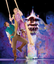 DISNEY ON ICE Rapunzel and  Disney on Ice presents Dare to Dream is coming to South Florida, March 21 31
