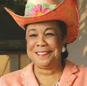 FRDERICA WILSON EASTER PHOT Congresswoman Frederica Wilson urges students to apply for Congressional Black Caucus Foundation Scholarship