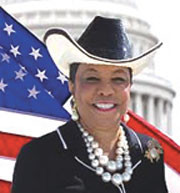 Congresswoman Frederica Wilson celebrates Women's History Month