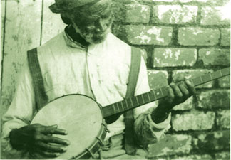 I WAS A SLAVE banjo man I Was A Slave: Plantation Life
