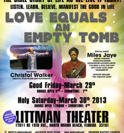 Live at the Littman Theater – 'Love Equals an Empty Tomb'