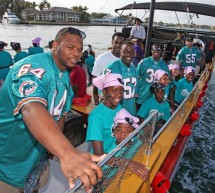 Miami Dolphins Take Students to Bluefoot Pirate