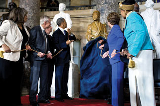 Rosa Parks Rosa Parks honored by Congress with full length statue