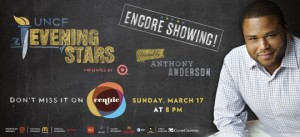 UNCF AEOS Re air Centric Banner ad 300x137  UNCF An Evening of StarsR Presented by Target   Encore Airing!   Sunday, March 17 at 8pmET