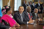 African leaders avoid U.S. Blacks