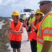 Broward Mayor and Congressional leaders tour Fort Lauderdale-Hollywood International Airport