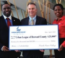 Florida Career College donates $25,000 to Urban League of Broward County