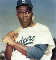 "Jackie Robinson: ""Too bad he's the wrong color"""