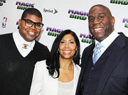 MAGIC JOHNSON OPEN UP Magic Johnson opens up about his son and being gay in the African American community