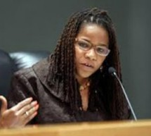 Commissioner Michelle Spence Jones strikes out in court