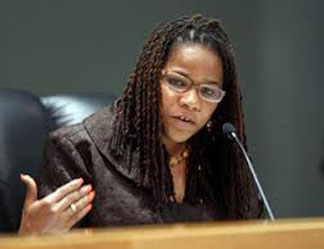 Michelle Spence Jones2 copy Commissioner Michelle Spence Jones strikes out in court