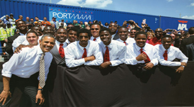 Obama and 500role models th  500 Role Model boys