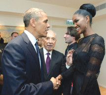 ­President Obama meets first Black Miss Israel Yityish 'Titi' Aynaw,