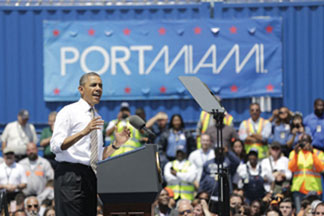 PRESIDENT OBAMA.jpegTHIS ON President Obama's visit stirred praise and criticism