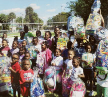 The Eta Nu Chapter of Omega Psi Phi Fraternity, Inc. host Easter Egg Hunt and blood drive