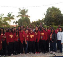 Local Tuskegee alumni host Women's Basketball team and band