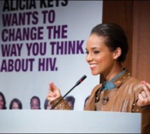 Alicia Keys shines light on women and HIV