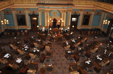 bill ELECTIONS BILL PASSES SENATE, COULD GO TO SCOTT SOON