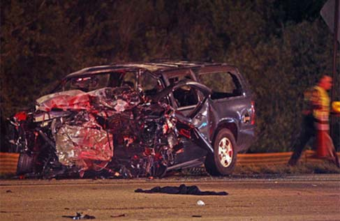 car crash3  Four Dead in Horrific Highway Crash Near Hallandale Beach Boulevard