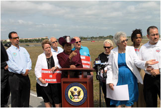 con wilson Commissioner Sue Gunzburger and others fight to keep North Perry Air Traffic Control Tower open