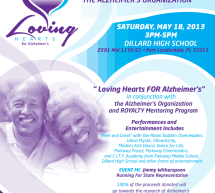"COME ""OPEN YOUR HEARTS"" A BENEFIT FOR THE ALZHEIMER'S ORGANIZATION"