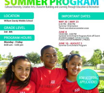 Now Enrolling: 2013 Summer Enrichment Program