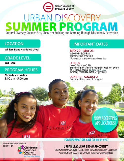 1592 Now Enrolling: 2013 Summer Enrichment Program
