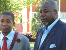Awesome: Father and son graduate Morehouse together