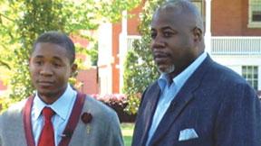 Dorian Joyner, Sr. with his oldest son Dorian Jr.