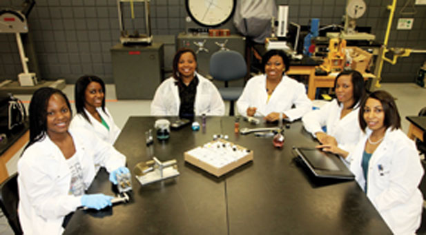 Female Ph.D. students at FAMU