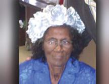 'Greatest Mom in the World 2013' Fannie Mae Sheppard