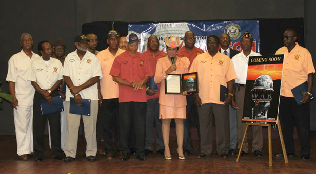 Congresswoman Frederica S. Wilson honored U.S. Military Forces veterans