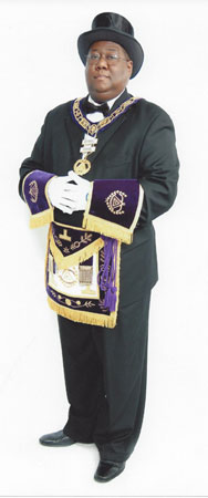 GMScruggs Scruggs re elected as Grand Master