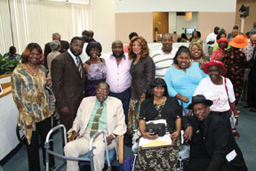 Herman McCray Family Pictur McCray's Bar BQ founder celebrated with community barbecue