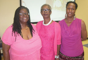 The Jan Moran Collier City Learning LIbrary second annual Pretty in Pink Tea