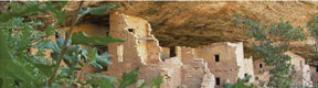 A view from Mesa Verde of the oldest remaining habitations, built by human hands. (Mesa Verde Museum Association Photo)