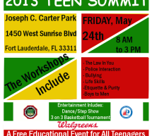 FLBPOA: Teen Summit Flyer