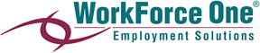 WorkForceOne logo WorkForce One Employment Solutions hosting 'Paychecks for Patriots' a free hiring fair for veterans, their spouses and eligible dependents