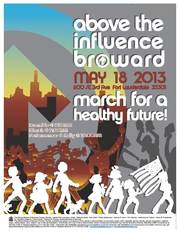 m  Above the Influence March and Rally