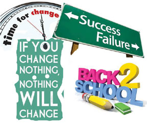 School Changes for 2013-2014