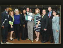 Broward County Commissioners received certificate for his service to Broward County