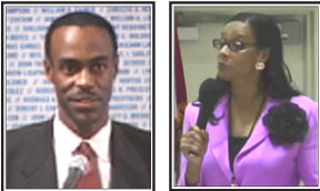 Superintedent Runcie and District 5 School Board Rep. Dr. Rosalind Osgood