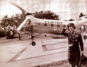 Ruth Alice Lucas, first African American woman to be promoted to colonel in the Air Force