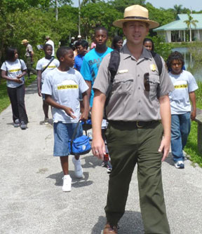 AUDREY1 Everglades trip makes new friends for parks, Expedition Denali