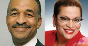 James Clingman and  Julianne Malveaux