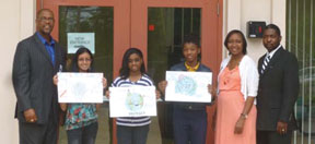 City of Lauderdale Lakes recycling logo/slogan winners