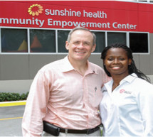 First year anniversary of the Community Empowerment Center