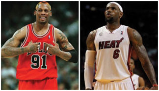 Dennis Rodman slam Dennis Rodman slams LeBron James, says he'd be 'average' in the '90s
