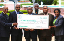 FAMU Class of 1962 gives back to alma mater