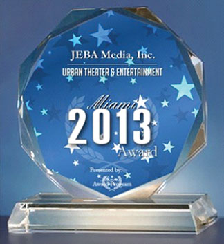 JEBA JEBA Media, Inc. receives 2013 Miami Award
